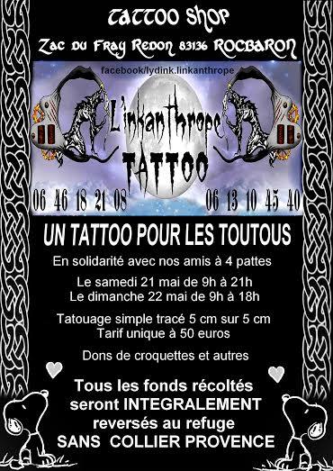 Un tatoo pour les toutous